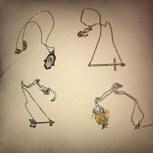 Lot of FOUR Necklaces